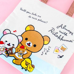 Rilakkuma Travelling Tote Bag