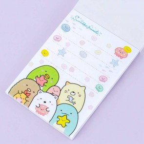 Sumikko Gurashi Deep Sea Fishing Notepad