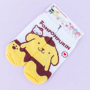 Pompompurin Side By Side Socks