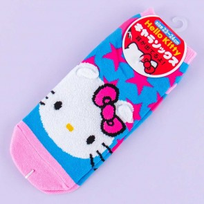 Hello Kitty Pink Stars Socks
