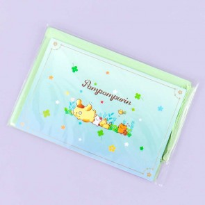 Pompompurin Clover Pop-Up Greeting Card & Bookmark