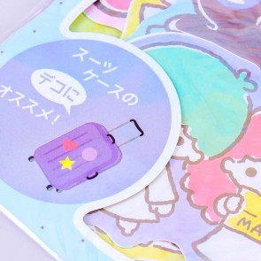 Sanrio Characters Travel Time Big Stickers