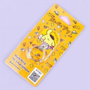 Pompompurin Breakfast Smartphone Ring Holder