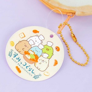 Sumikko Gurashi Fluffy Round Coin Purse