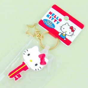 Hello Kitty Key Shape Keychain