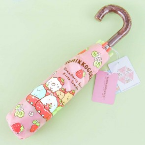 Sumikko Gurashi Strawberry Portable Foldable Umbrella