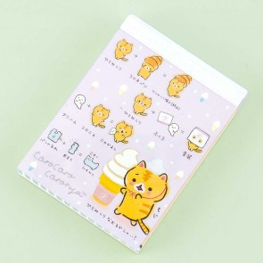 Corocoro Coronya Ice Cream Notepad