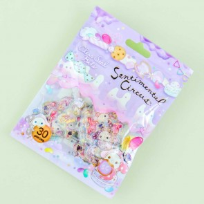 Sentimental Circus Dessert Clear Seal Bits Stickers