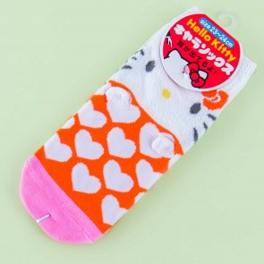 Hello Kitty Heart Pattern Socks