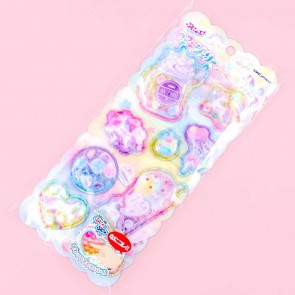 Pastel Unicorn Soft Puffy Stickers
