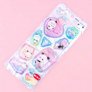 Mochi Mochi Panda Soft Puffy Stickers