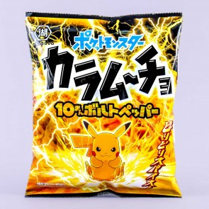 Pokemon Karamucho Potato Chips - Spicy Pepper