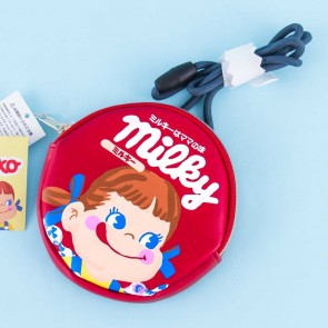 Milky Peko-Chan Round Shoulder Bag