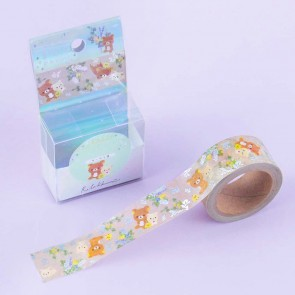 Rilakkuma Flower Garden Washi Tape