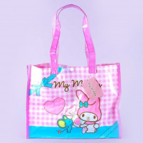 My Melody Checkered Shoulder Bag