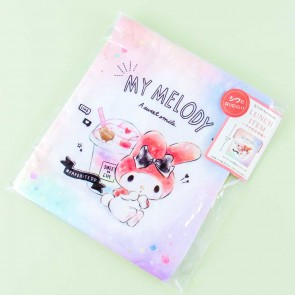 My Melody Sweet Cafe Drawstring Bag