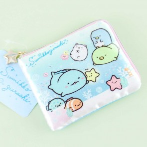 Sumikko Gurashi Under The Sea Square Coin Purse