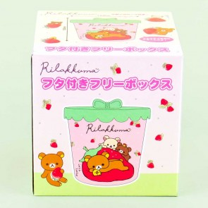 Rilakkuma Strawberry Pillow Canister