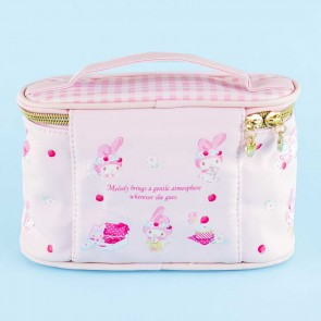 My Melody & Strawberries Cosmetic Bag With Handle