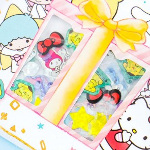 Sanrio Characters Pop Sparkle Sticker Flakes