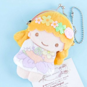 Little Twin Stars With Flowers Plushie Coin Purse - Lala