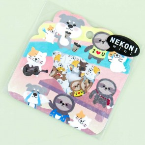 Nekoni Mini Animal Festival Sticker Flakes