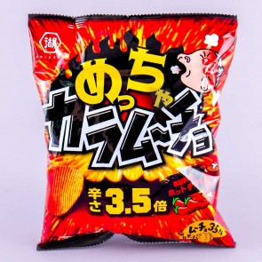 Koikeya Karamucho Potato Chips - Super Hot Chili