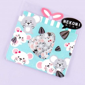 Nekoni Mini Chubby Hamster Sticker Flakes