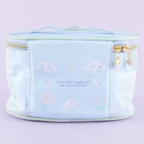 Cinnamoroll Floral Blooms Cosmetic Bag With Handle