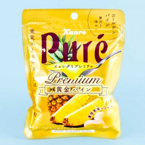 Kanro Puré Premium Gummy - Golden Pineapple