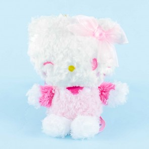Hello Kitty Fluffy Plushie Charm - Medium