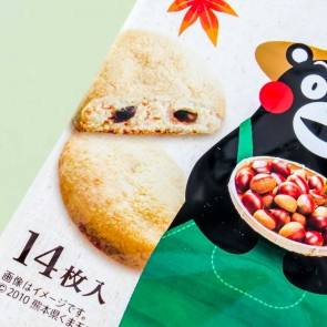 Fujiya Kumamon Country Ma'am Chestnut Cookies