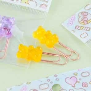 Gummy Bears Paper Clip Set - 2 pcs