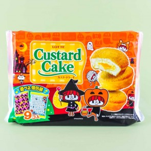 Lotte Enjoy Halloween Custard Cake Pack - 9 pcs
