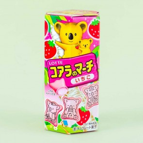 Lotte Koala's March Strawberry Cookies