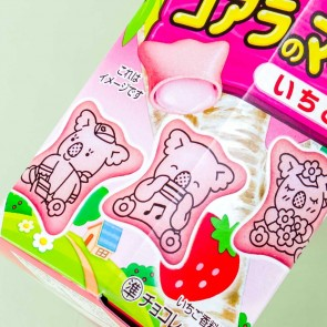 Lotte Koala's March Strawberry Biscuits