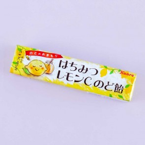 Kanro Throat Candies - Honey Lemon & Vitamin C