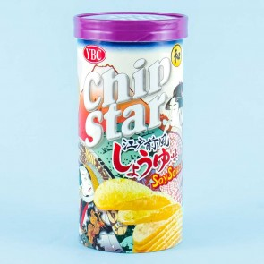 Chip Star Potato Chips -  Edo-Style Soy Sauce