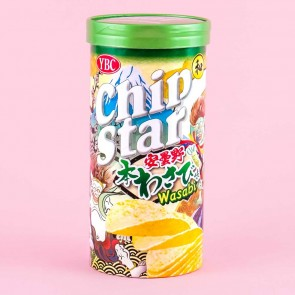 Chip Star Potato Chips - Azumino Wasabi