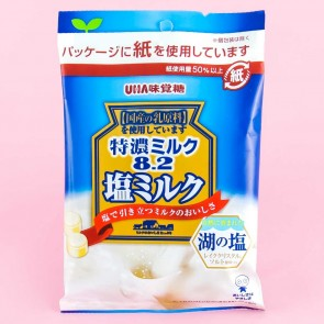 UHA Tokuno Milk 8.2 Salty Milk Candy