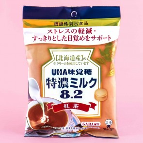 UHA Tokuno Milk 8.2 Black Tea Candies