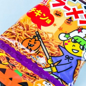 Baby Star Halloween Chicken Crispy Noodles Snack Set - 5 pcs