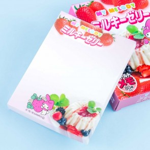 My Melody Pudding Mix Package Memo Pad
