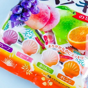 Kasugai Refreshing Throat Candy - Assorted Fruits