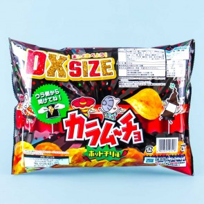 Koikeya Karamucho Potato Chips - Hot Chili / Large