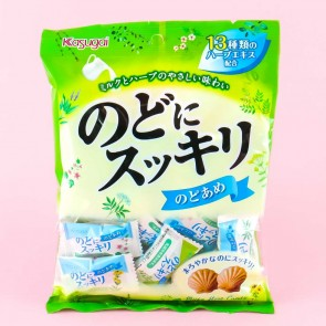 Kasugai Nodo Ni Sukkiri Milk Herbal Throat Candies