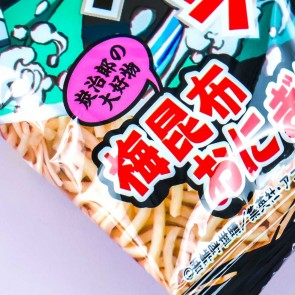 Baby Star Demon Slayer Noodle Snacks - Plum Kombu Origiri