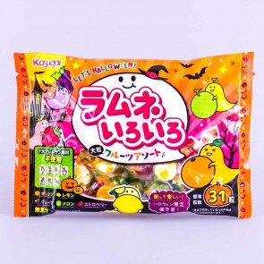 Kasugai Halloween Ramune Candy Multi-Pack - 31 pcs