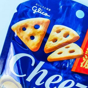 Glico Cheeza Camembert Cheese Crackers