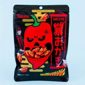 Tohato Bokun Habanero Spicy Okaki Rice Crackers